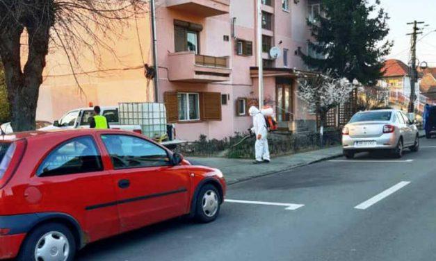 O nouă acțiune de dezinfecție în scările de bloc din Blaj – 29 si 30 aprile 2020