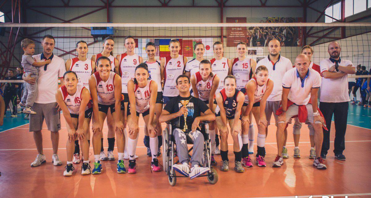 Cupa Blajului 2014: CSV Alba Blaj – CS U Medicina Targu Mures 3 – 0
