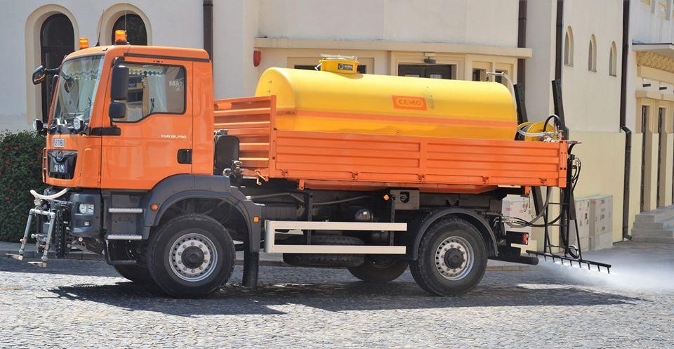 Anunț dezinfectare străzi Blaj – 30 aprilie 2020, ora 8:00