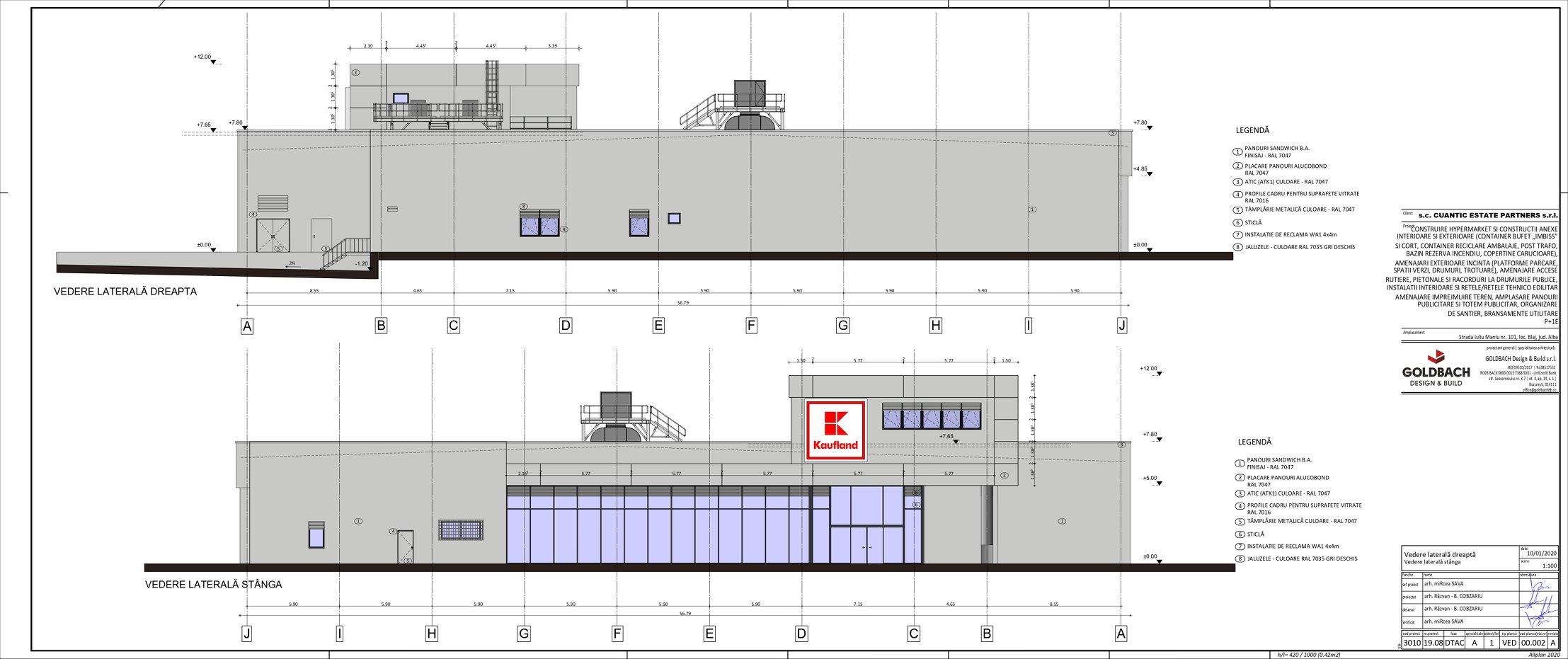 plan lateral kaufland blaj