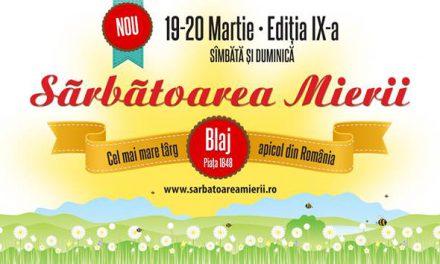 Sarbatoarea mierii – Blaj- 19 si 20 martie 2016