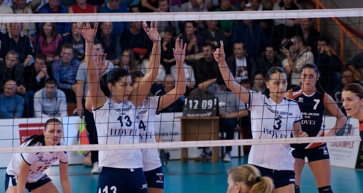 Volei CSV Alba Blaj – CS Dinamo Bucuresti – 3 nov 2012