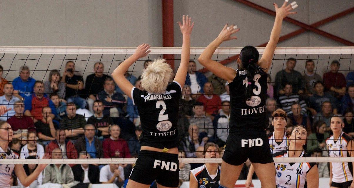 Volei CSV Alba Blaj – U Cluj – 13 nov 2012